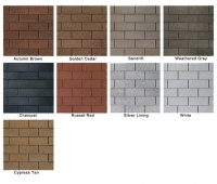 3Tab Shingle colors